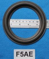 Foamrand van 5  inch, voor een conusmaat van 10 cm (F5AE)