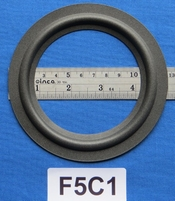 Foam ring, 5 inch, for a unit with a cone size of 9,2 cm