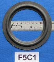 Foamrand van 5  inch, voor een conusmaat van 9,2 cm (F5C1)