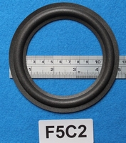 Foamrand van 5  inch, voor een conusmaat van 9,4 cm (F5C2)