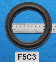 Foam ring, 4,75 inch, for a unit with a cone size of 9,2 cm
