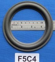 Foamrand van 5  inch, voor een conusmaat van 9,65 cm (F5C4)