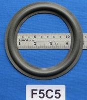 Foamrand van 5  inch, voor een conusmaat van 9,6 cm (F5C5)