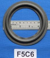 Foamrand van 5  inch, voor een conusmaat van 9,3 cm (F5C6)