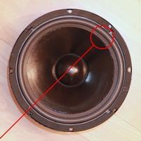 Foam ring for JBL TLX16 woofer