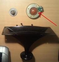 Diafragma voor Yamaha Club Series Model S215ES Tweeter