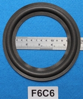 Foam ring, 6 inch, for a unit with a cone size of 12,2 cm