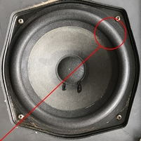 Foam ring for Bang & Olufsen Beovox 4702 woofer