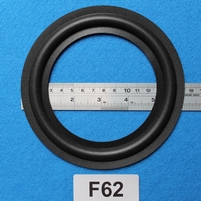 Foam ring, 6 inch, for a unit with a cone size of 11,3 cm
