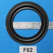 Foamrand van 6  inch, voor een conusmaat van 11,5 cm (F62)