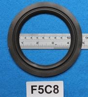 Foamrand van 5  inch, voor een conusmaat van 9,4 cm (F5C8)