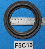 Foamrand van 5  inch, voor een conusmaat van 8,9 cm (F5C10)