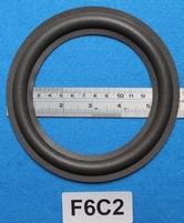 Foamrand van 6  inch, voor een conusmaat van 11,5 cm (F6C2)
