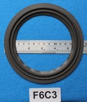 Foamrand van 6  inch, voor een conusmaat van 12,1 cm (F6C3)
