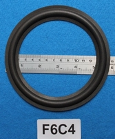 Foamrand van 6  inch, voor een conusmaat van 11,85 cm (F6C4)