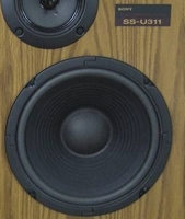 Schaumstoff Sicke für Sony SS-U331 Tieftoner