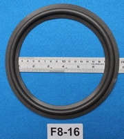 Foam ring, 8 inch, for a unit with a cone size of 16 cm