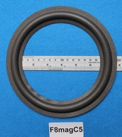 Foam ring, 8 inch, for a unit with a cone size of 15,2 cm
