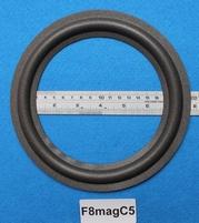Foamrand van 8 inch, voor een conusmaat van 15,2 cm (F8magC5