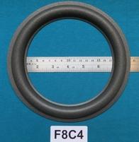 Foamrand van 8 inch, voor een conusmaat van 15 cm (F8C4)