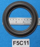 Foamrand van 5  inch, voor een conusmaat van 9 cm (F5C11)