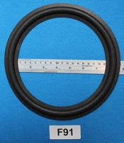Foam ring, 9 inch, for a unit with a cone size of 18,4 cm