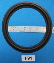 Foamrand van 9 inch, voor een conusmaat van 184 mm  (F91)