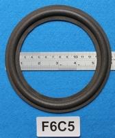 Foamrand van 6  inch, voor een conusmaat van 12,2 cm (F6C5)