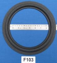 Foamrand van 10 inch, voor een conusmaat van 19,3 cm (F103)