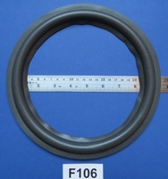 Foam ring, 10 inch, for a unit with a cone size of 19 cm