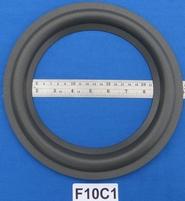 Foamrand van 10 inch, voor een conusmaat van 18,6 cm (F10C1)