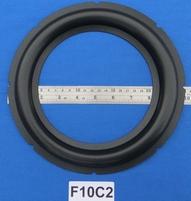 Foamrand van 10 inch, voor een conusmaat van 17,8 cm (F10C2)