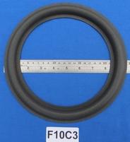 Foamrand van 10 inch, voor een conusmaat van 19,2 cm (F10C3)