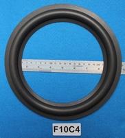 Foamrand van 10 inch, voor een conusmaat van 18,6 cm (F10C4)