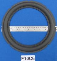 Foamrand van 10 inch, voor een conusmaat van 19 cm (F10C6)