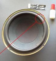 Foam ring (8 inch) for Jamo W20383 woofer