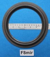 Foamrand van 8 inch, voor een conusmaat van 15,5 cm (F8mir)