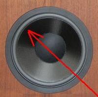 Foam ring (10 inch) for Altec Lansing 401 woofer