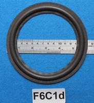 Foamrand van 6  inch, voor een conusmaat van 11,9 cm (F6C1d)
