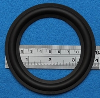 Rubber ring, 4 inch, for a unit with a cone size of 7,5 cm
