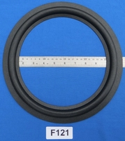 Foam ring, 12 inch, for a unit with a cone size of 23,1 cm