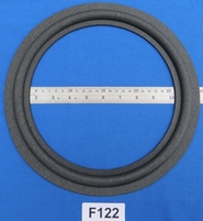 Foam ring, 12 inch, for a unit with a cone size of 23,6 cm