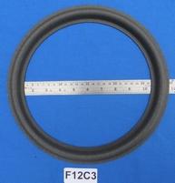 Foamrand van 12 inch, voor een conusmaat van 24,3 cm (F12C3)
