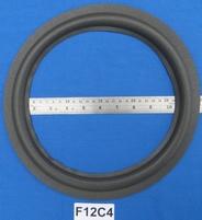 Foamrand van 12 inch, voor een conusmaat van 23,4 cm (F12C4)