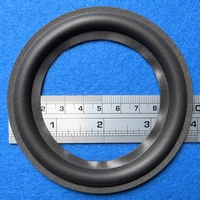 Foamrand van 4 inch, voor een conusmaat van 7,4 cm (F4C13)
