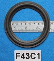 Foamrand van 4,25  inch, voor een conusmaat van 8,3 cm (F43C