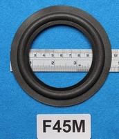 Foamrand van 4,5  inch, voor een conusmaat van 8,3 cm (F45M)