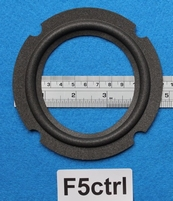 Foam ring, 5 inch, for a unit with a cone size of 8,4 cm