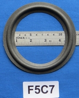 Foamrand van 5  inch, voor een conusmaat van 10 cm (F5C7)