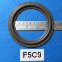 Foamrand van 5  inch, voor een conusmaat van 9,3 cm (F5C9)